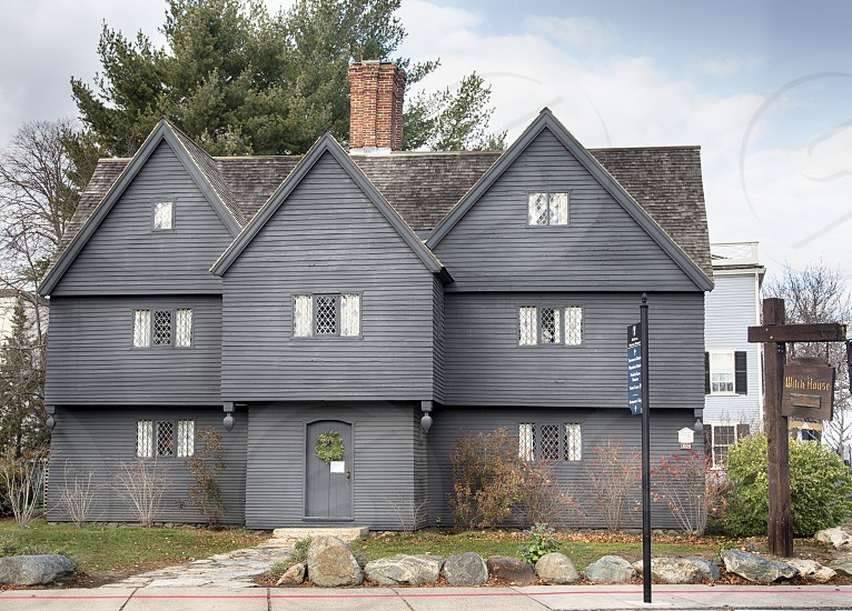 The Witch House in Salem MA photo