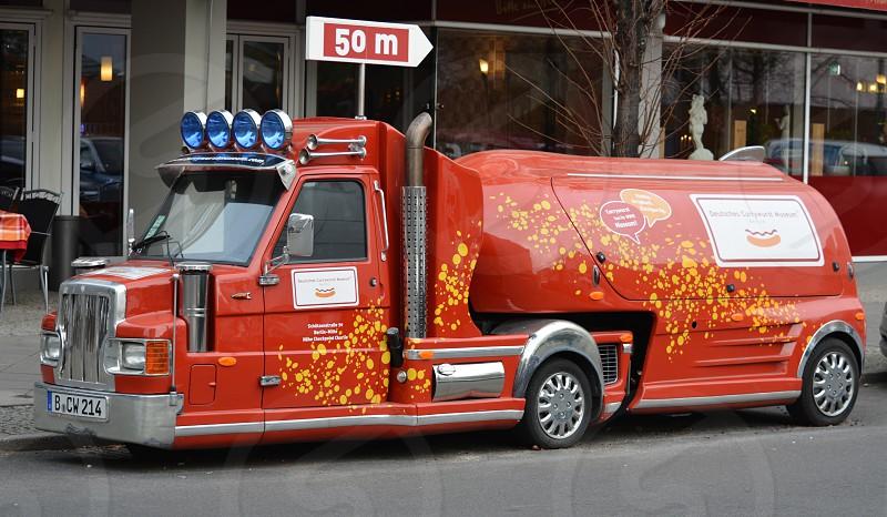 Currywurst-Truck photo