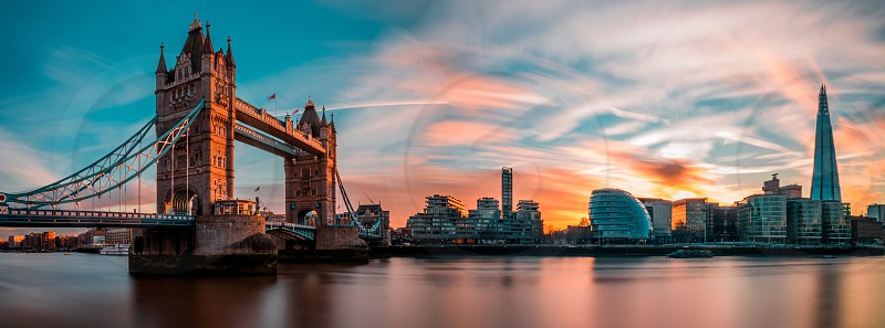 London panorama photo