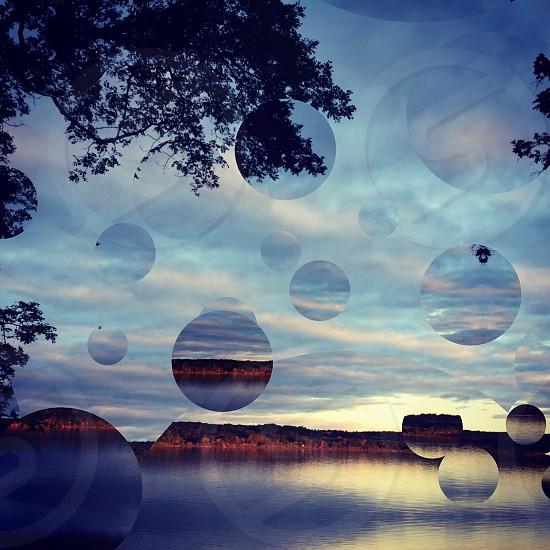 Hudson River bubbles photo