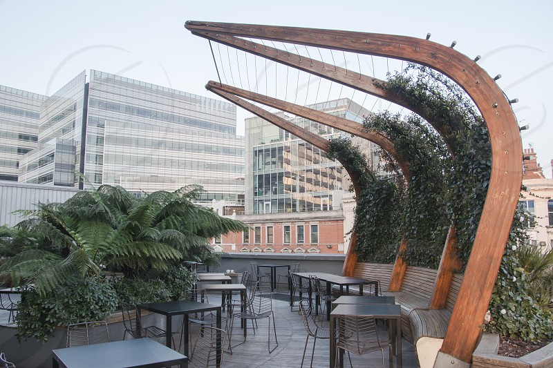 Lyric roof garden in Hammersmith London (United Kingdom) photo