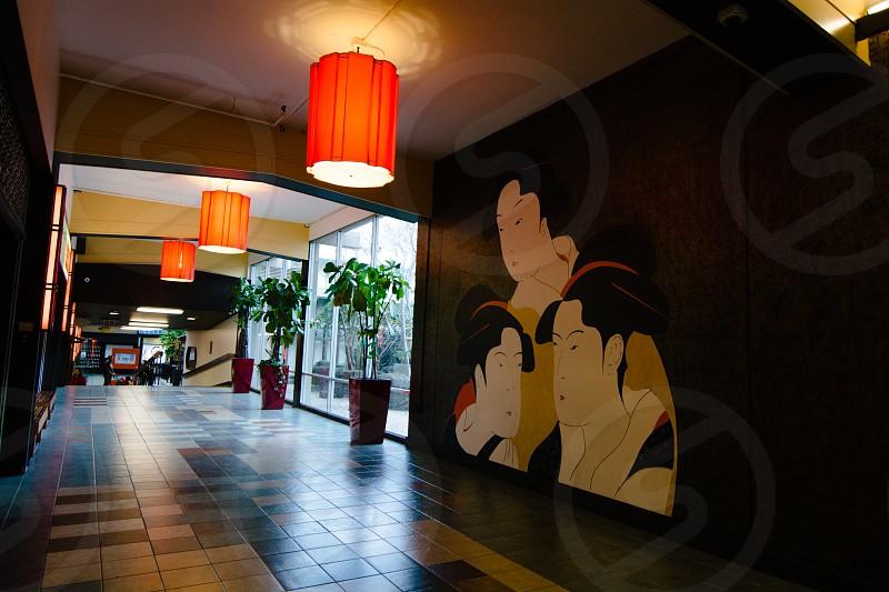 Inside the Japan center photo