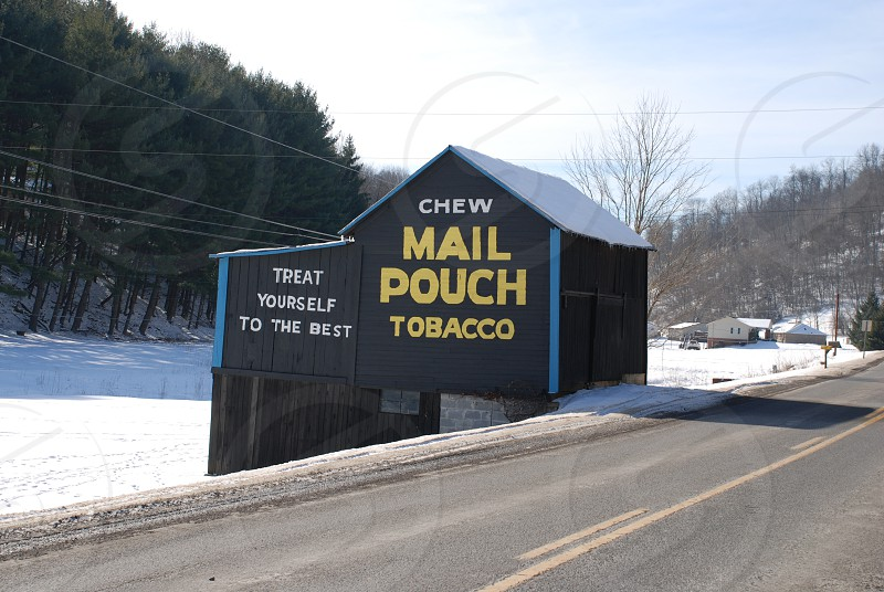 Barn with Mail Pouch photo