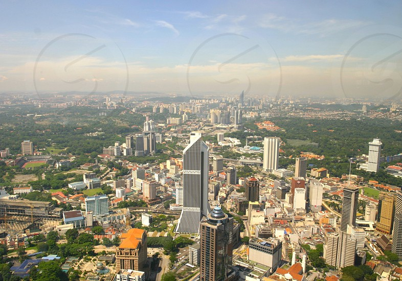 Skycrapper of Kuala Lumpur photo