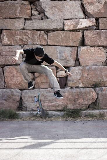 Jerome skating. photo