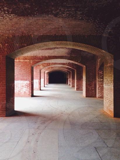 red bricks building photo
