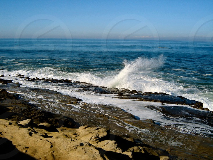 San Diego California coastline photo