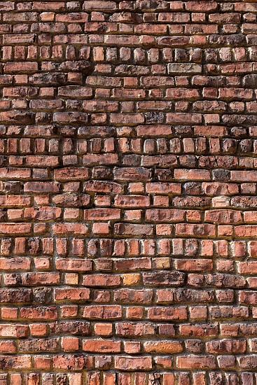 West Village in New York Manhattan building brickwall texture USA NYC photo