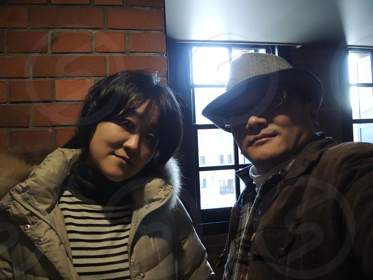a couple in Yokohama Red Brick Warehouse photo