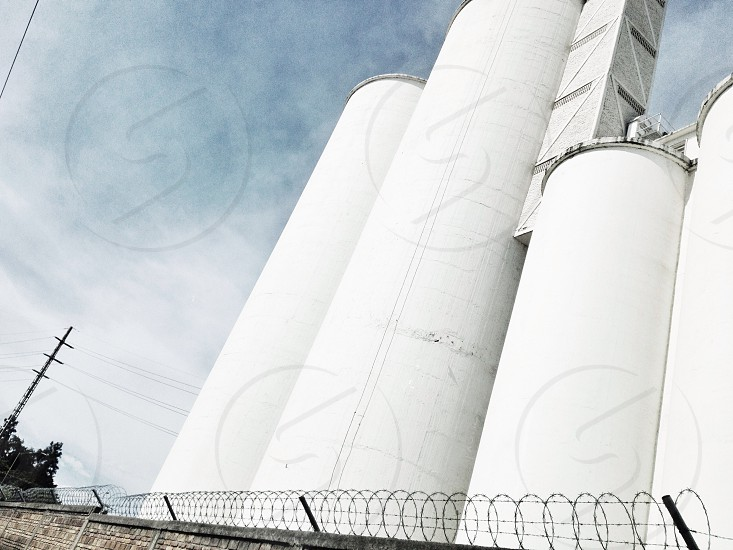 white tank building photo