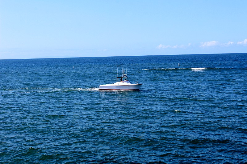 Boating on the Ocean photo