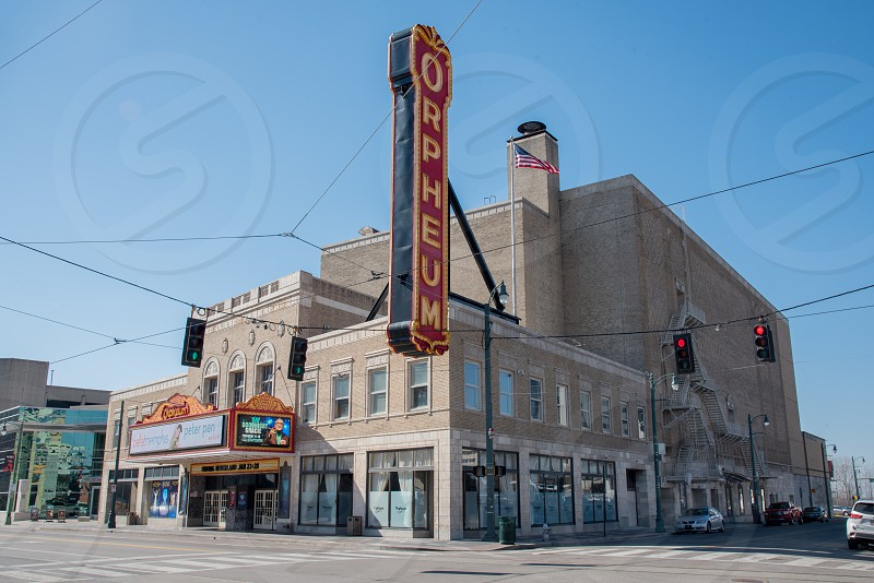 The Orpheum Theatre in Memphis Tennessee photo