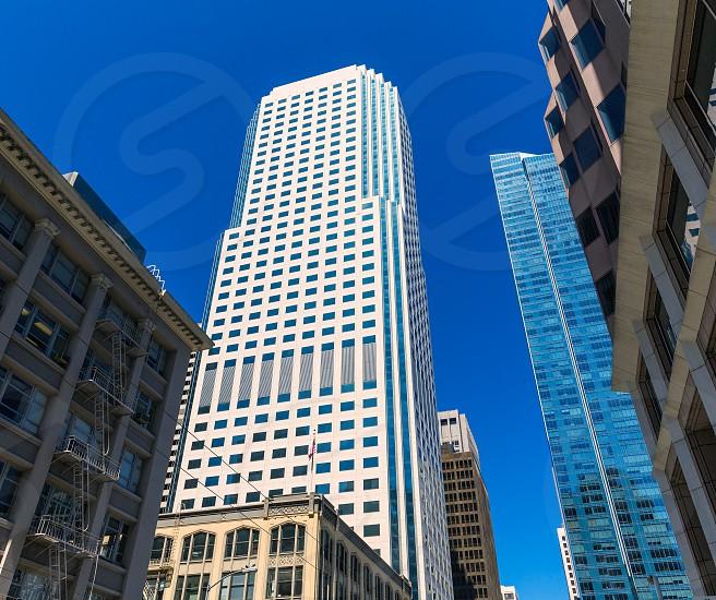 San Francisco Downtown buildings at California USA photo