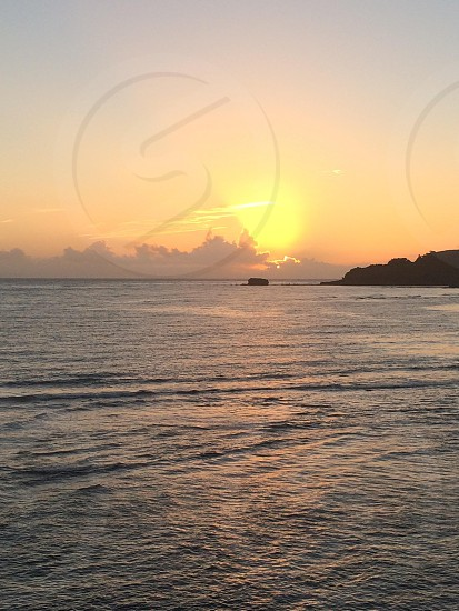Dominican sunrise photo
