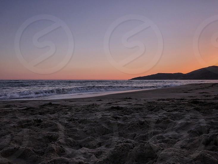 Sea sunset in Ascea Salerno Italy #peaceofmind photo