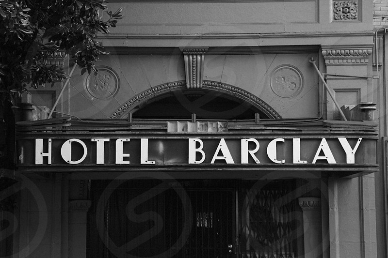 hotel barclay down town los angeles street photo