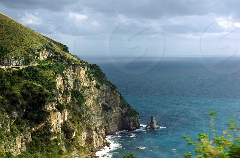 panoramic cliff photo