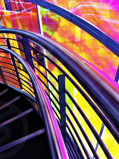 Abstract stairs photo