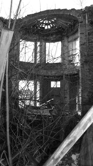 Manor House in disrepair  photo