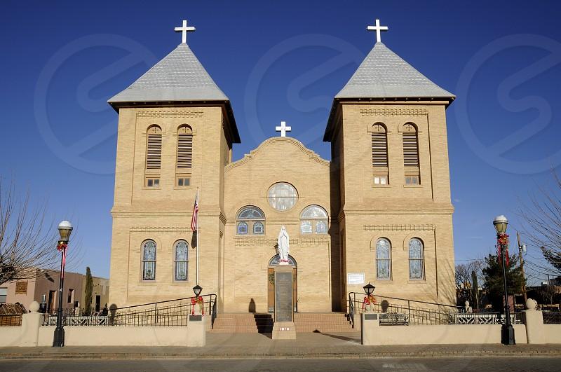 Basilica of San Albino Mesilla New Mexico catholic church religious architecture landmark sight photo