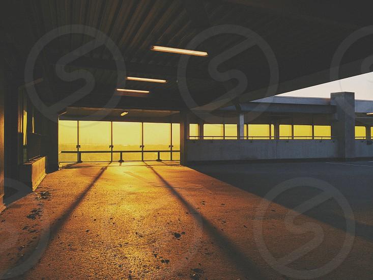 Emporia shopping mall Malmö [golden hour shadows architecture] photo