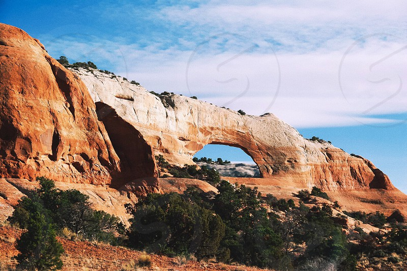 Arches national park red rock arch Utah explore travel roadtrip photo