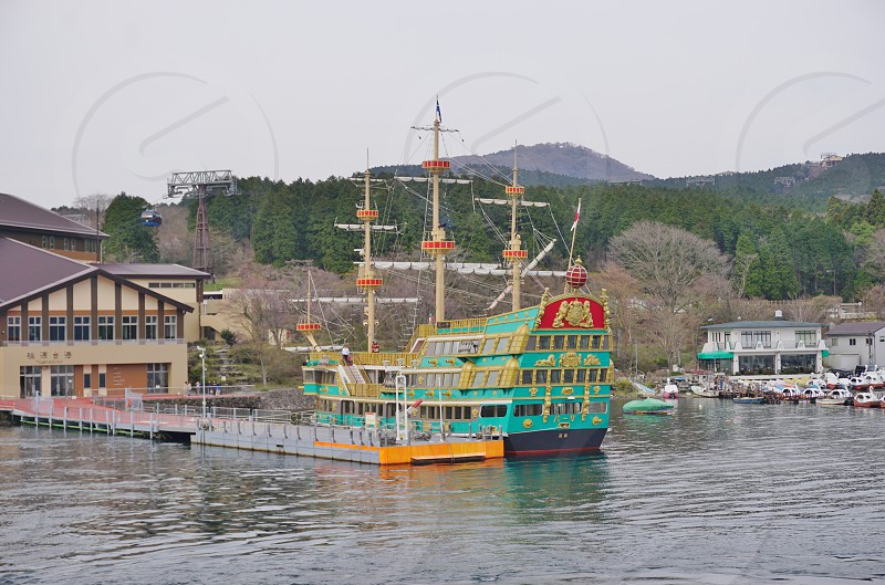 Lake Ashi - Hakone Japan photo