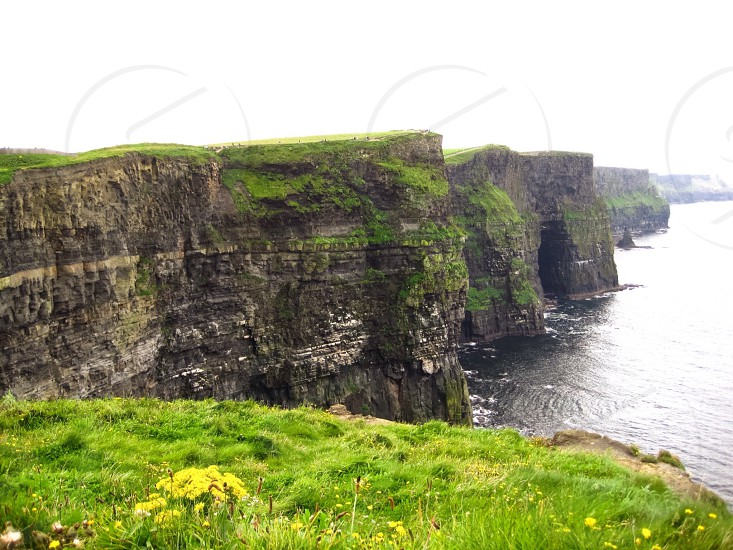 The Cliffs of Moher in Ireland.  photo