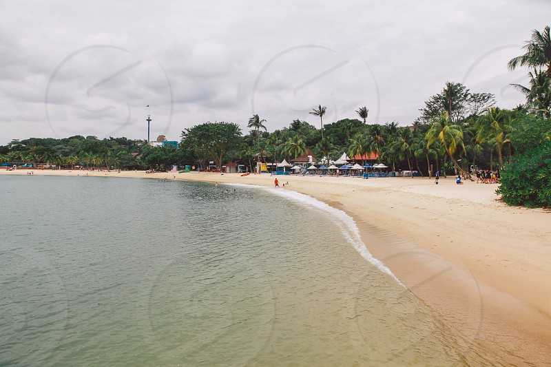 Palawan Beach Sentosa Island - Singapore photo