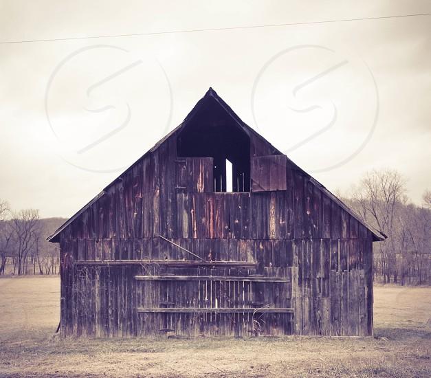 brown barn photo