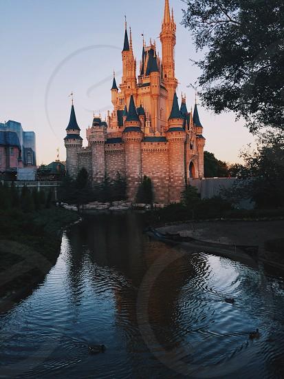 Sun reflects off the castle sunsetamazingbeautybeautiful photo