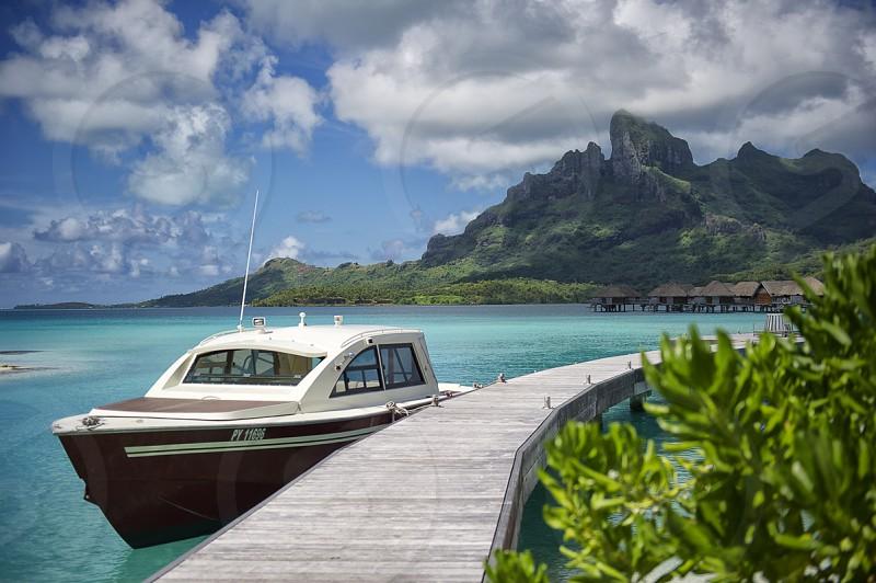 Cruising in Bora Bora photo