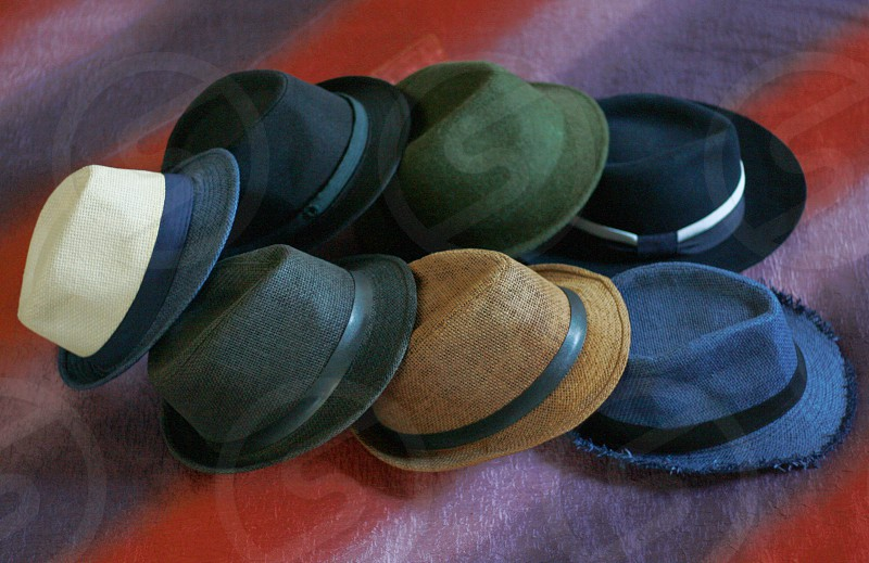 Collections of bowler hats 2 photo