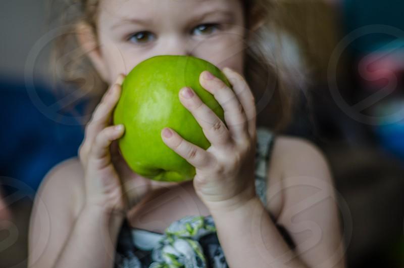 Apple green photo