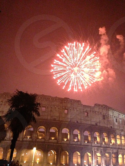 New Years a Eve at the Colosseum  photo