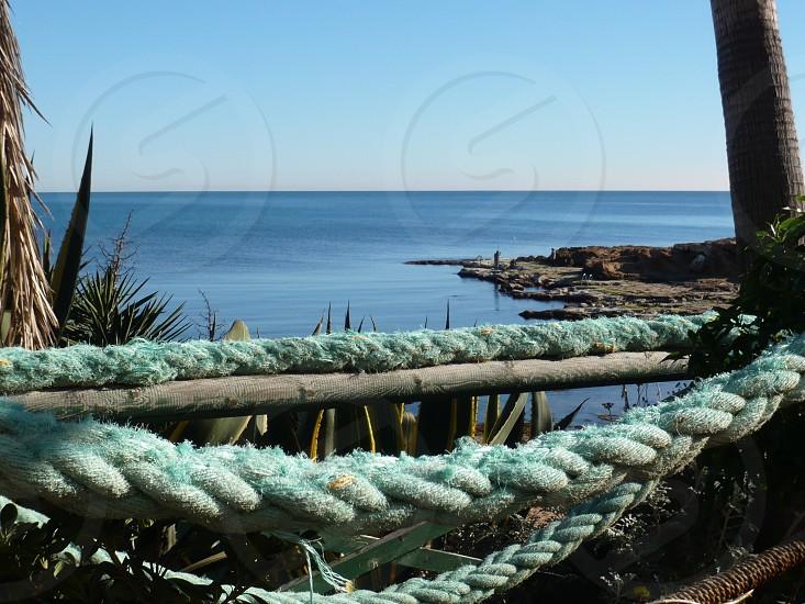 Tropical Blue sea view photo
