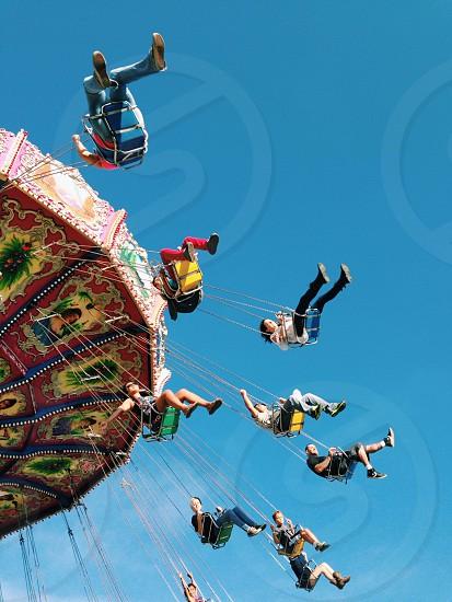 theme park ride photo