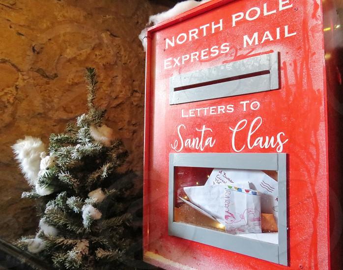 Santa Claus mail box photo