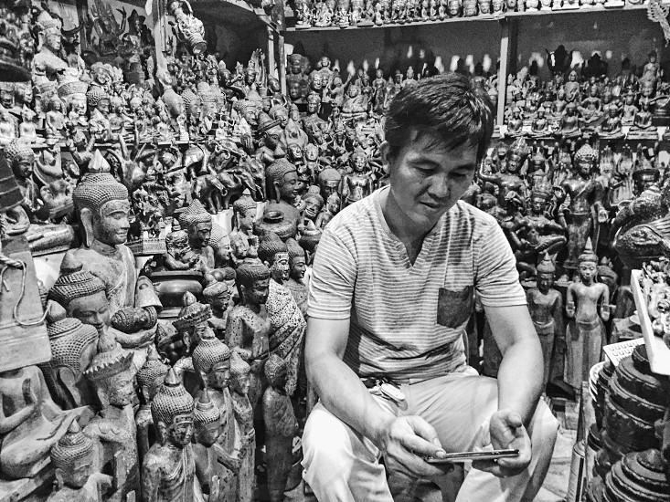 Cambodia portrait photo