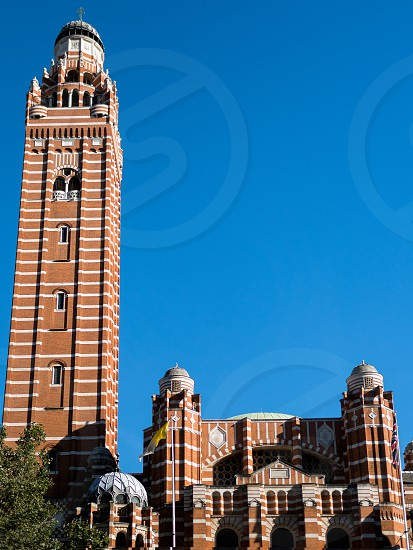 View of the Tower at Westminster Cathedral photo