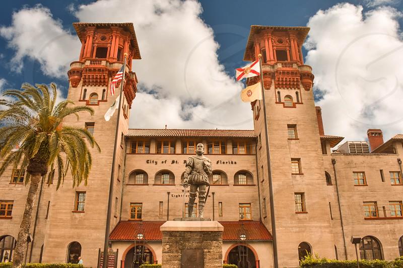 St. Augustine Florida. January 26  2019. Lightner Museum is housed in the former Alcazar Hotel built in 1888 by Henry Flagler. photo