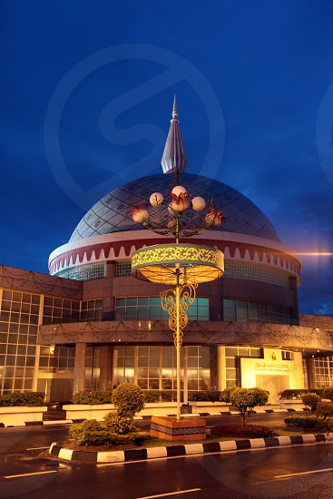 the Kroninsignien Museum or Royal Ragalia Museum in the city of Bandar seri Begawan in the country of Brunei Darussalam on Borneo in Southeastasia. photo