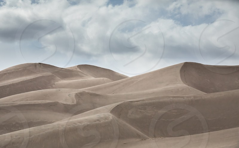 The Great Sand Dunes Nationalpark in Colorado photo