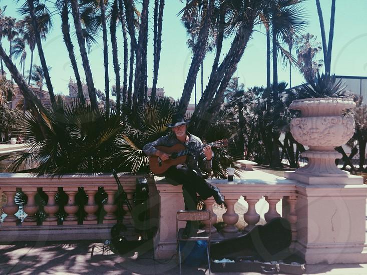 Musician Balboa Park San Diego CA  photo
