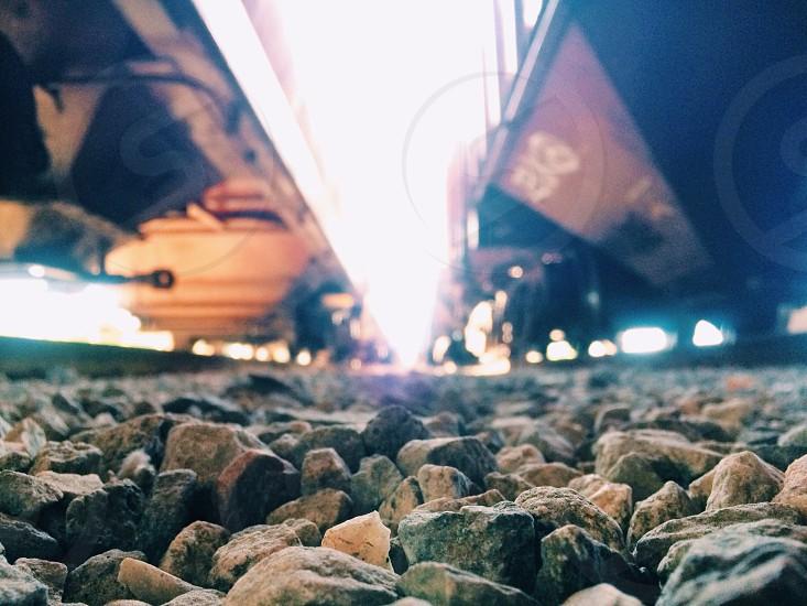 brown stones  photo
