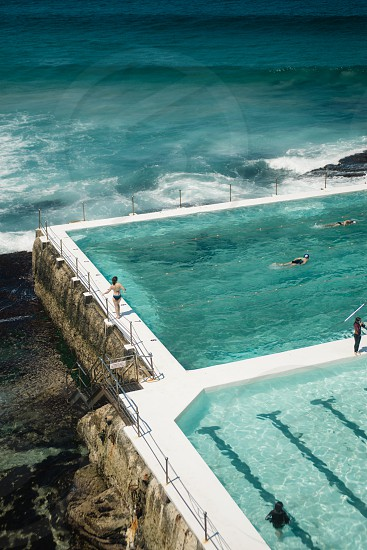 The famous Icebergs at Bondi Beach in Sydney Australia photo