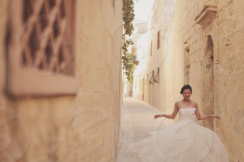 Malta wedding lovely bride Grace photo