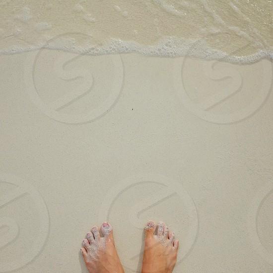 Powder White sand photo