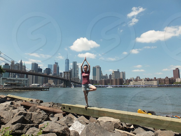 New York Brooklyn bridge  photo