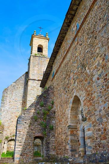 Villafranca del Bierzo by Way of Saint James San Francisco church in Leon Spain photo